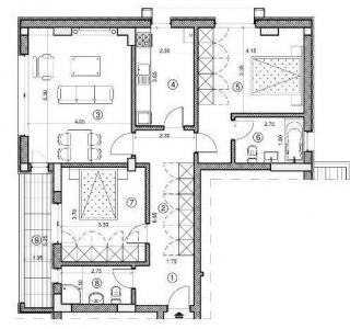 Apartament - 3 camere Mosilor