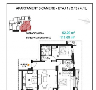 Apartament - 3 camere P-ta Victoriei