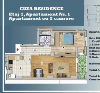 Apartament - 2 camere P-ta Victoriei